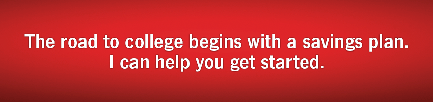 The road to college begins with a savings plan. I can help you get started.