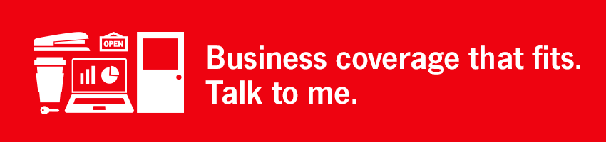 Business coverage that fits. Talk to me.