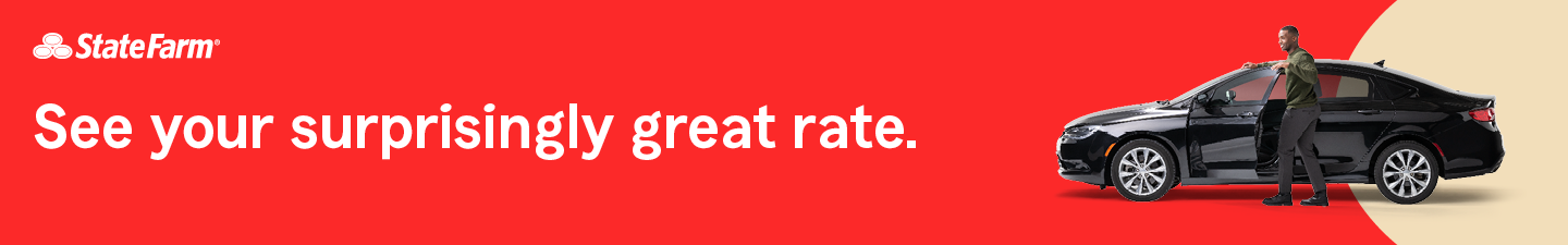 State Farm. See your surprisingly great rate.