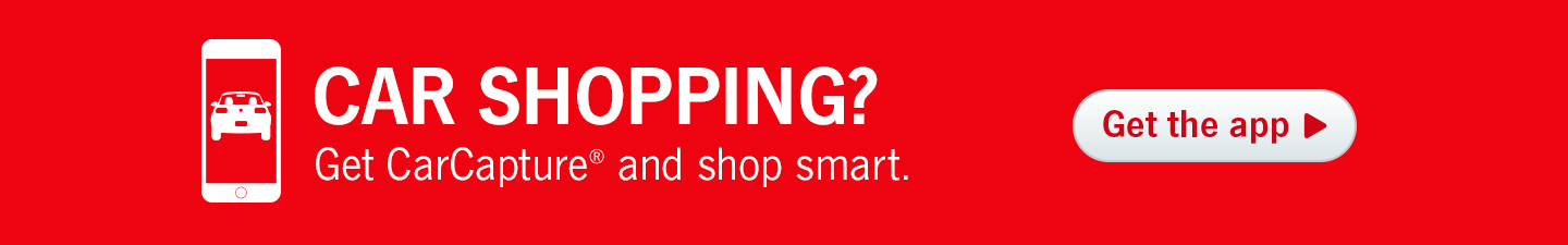 Car Shopping? Get CarCapture and shop smart.