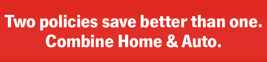 Two policies save better than one. Combine Home & Auto.